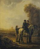 Horsemen in a Landscape