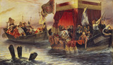 The State Barge of Cardinal Richelieu on the Rhône
