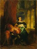 François Ier and Marguerite de Navarre