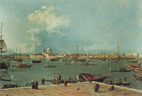 Venice: the Bacino di San Marco from San Giorgio Maggiore