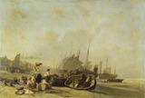 Boats on the Shore at Calais