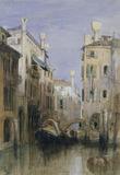 Venice: Canal Scene
