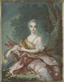 A Lady as Diana