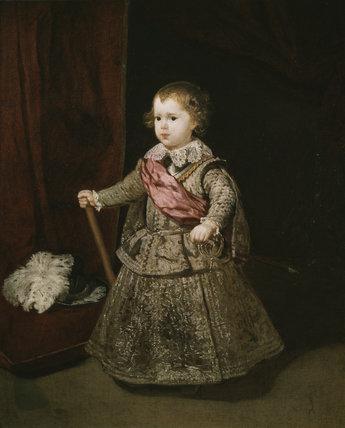 Prince Baltasar Carlos in Silver