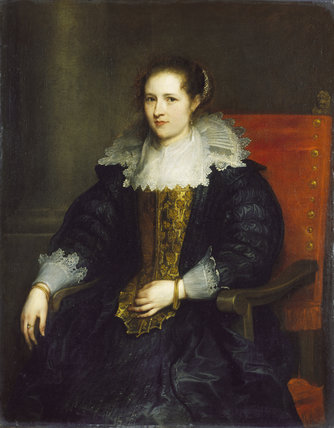 Portrait of Isabella Waerbeke