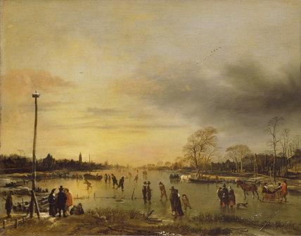 A Skating Scene