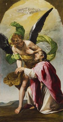 Saint John the Evangelist's Vision of Jerusalem