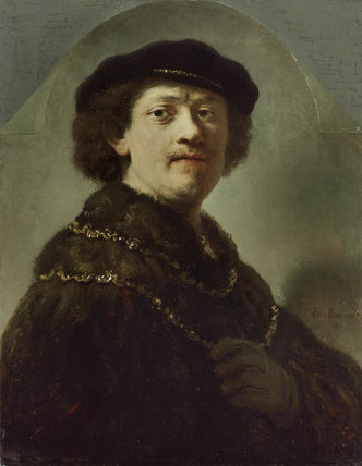 Self-Portrait in a Black Cap