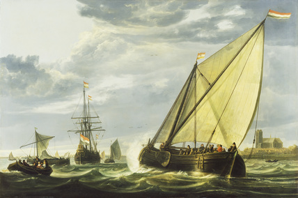 Shipping on the Maas, Dordrecht