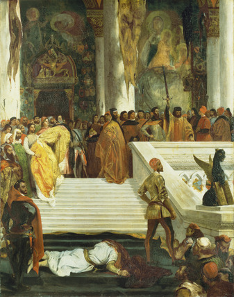 The Execution of the Doge Marino Faliero