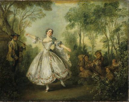 Mademoiselle de Camargo Dancing