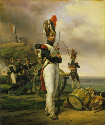 A Grenadier of the Guard at Elba