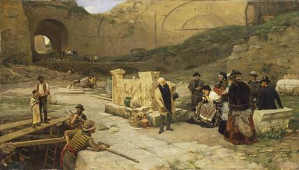 Excavations in Rome