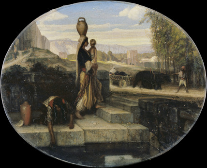 Eastern Women at a Well