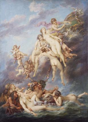 The Birth of Venus (after Boucher)