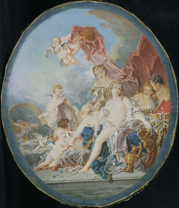 the toilet of venus after boucher by jacques charlier at the wallace collection