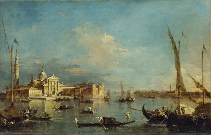 Venice: San Giorgio Maggiore with the Giudecca