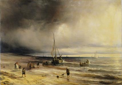 A Dutch Coast Scene