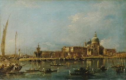 Venice: the Dogana with Santa Maria della Salute