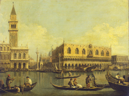 Venice: the Molo from the Bacino di S. Marco