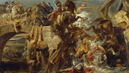 The Defeat and Death of Maxentius