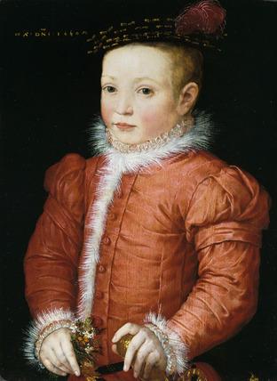 A Boy with a Nosegay