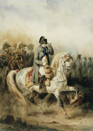 Napoleon on a Grey Horse
