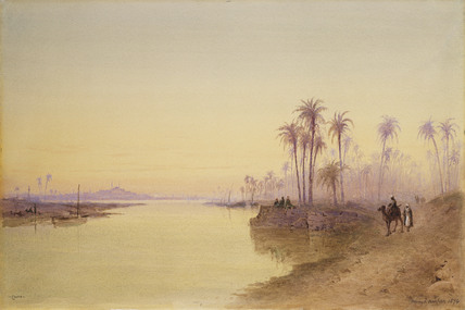 Cairo: from the Nile looking south
