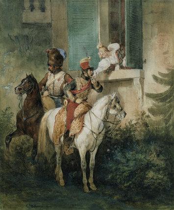 The Hussar's Adieu