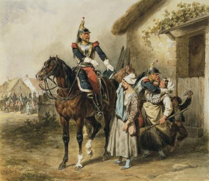 Cuirassiers under Marching Orders