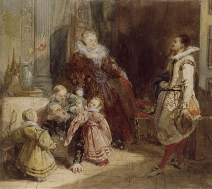 Henri IV and the Spanish Ambassador