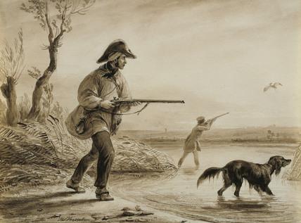 Heron Shooting