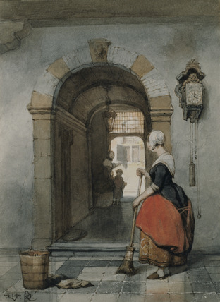 Interior with Servant
