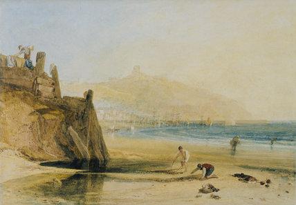 Scarborough Castle: Boys Crab Fishing