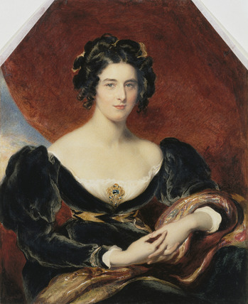 Sarah, Lady Lyndhurst (after Lawrence)