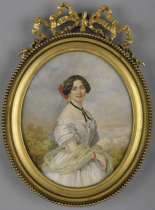 Mademoiselle Sontag, after Winterhalter