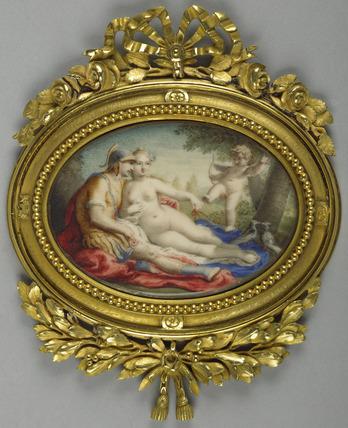 Mars and Venus with Cupid