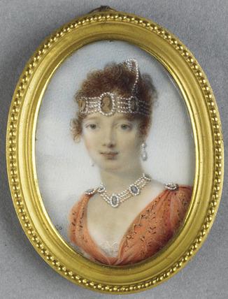 Caroline Bonaparte, Queen of Naples, after Isabey (?)
