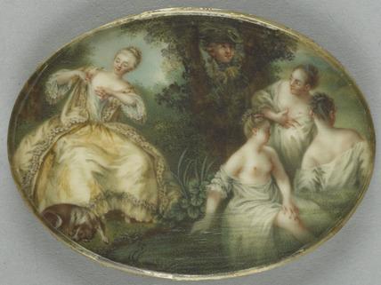 Girls bathing, after Lancret