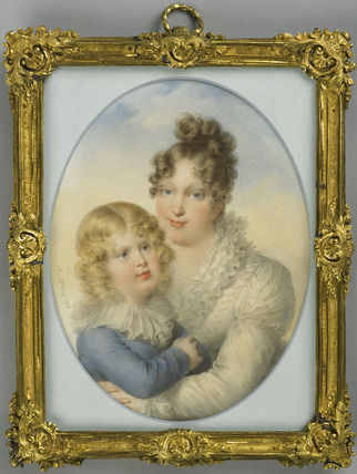 The Empress Marie-Louise and her son, the King of Rome