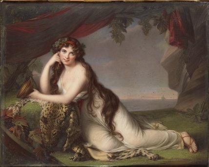 Lady Hamilton as a Bacchante, after Vigée Le Brun
