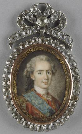 Louis XVI as Dauphin, after L.M. Van Loo