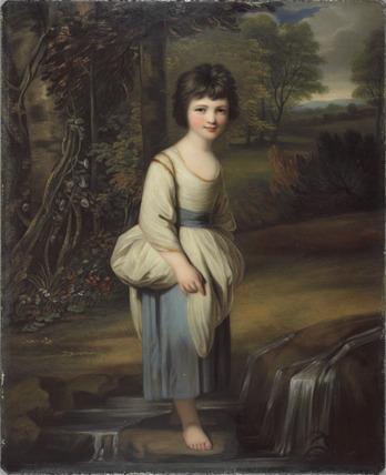 Lady Anne Fitzpatrick ('Sylvia'), after Reynolds