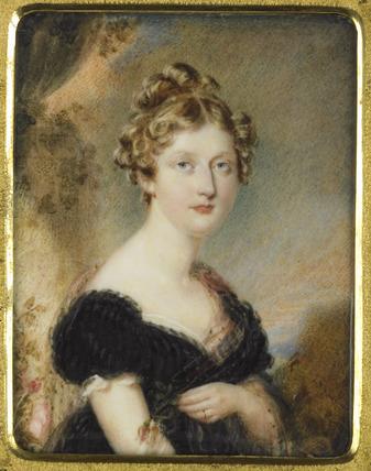 A Lady, probably Princess Charlotte