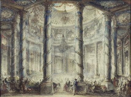 A Fête in the Colisée