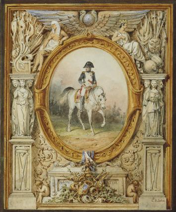 Napoleon I on horseback