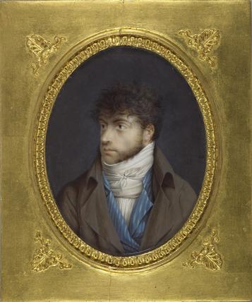Louis-François Aubry, after a self-portrait