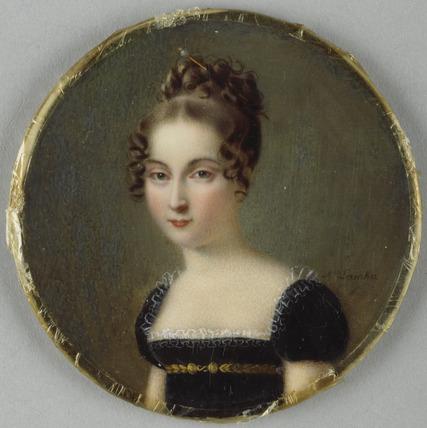 Louise, daughter of Charles-Ferndinand, duc de Berri, called