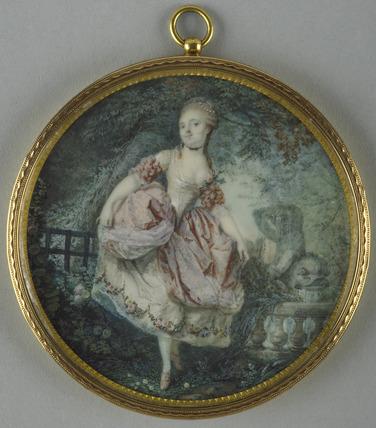 A Dancer in a garden