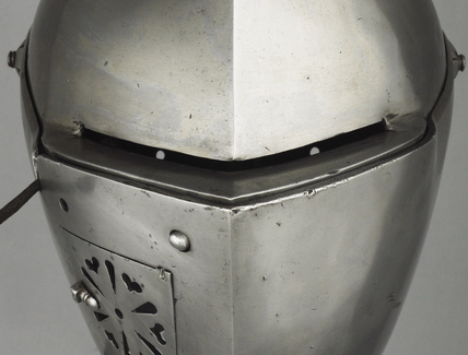 Detail from jousting armour